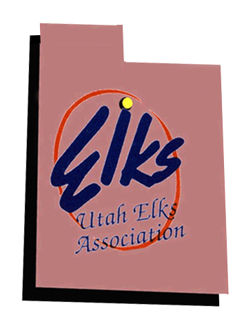 Utah State Elks Association logo
